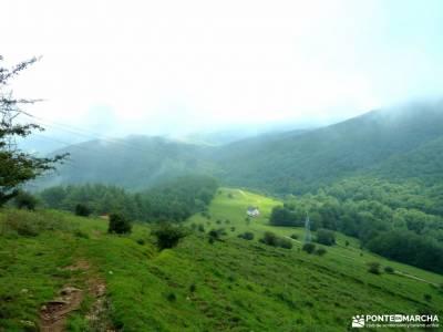 Urbasa-Andía;Aizkorri-Aratz;Aralar; senderismo en teruel peña trevinca mapa valle de tena puig cam